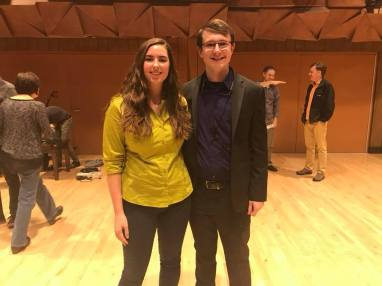 Premiere of Troposphere by Drew Hosler at the 2017 BGSU Composer's Forum