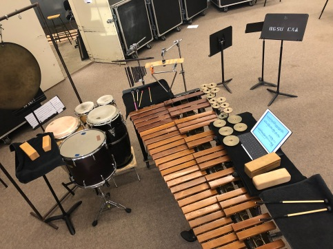 Remnants for solo percussion
