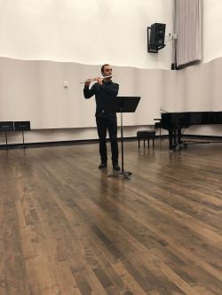 Premiere of Belfry by Octavian Moldovean on BGSU's Praecepta concert on 11/28/18.